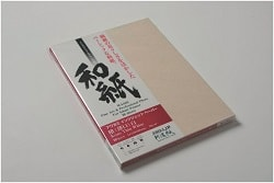 Awagami Kozo Thin White Inkjet Paper A2 70gsm IJ-0312 - Pack 10 Sheets