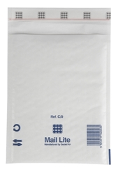 Mail Lite Padded Bubble Envelopes White Ref C/0 150x210mm - Box 100