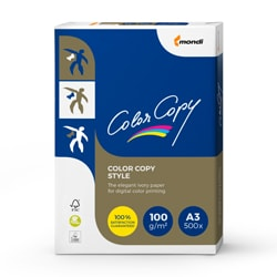 Color Copy Style Paper A3 100gsm - Box 4 Reams