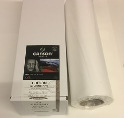 Canson Infinity Edition Etching Rag Inkjet Paper (17in roll) 432mm x 15m 310gsm 206212000 - Each Roll