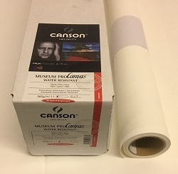 Canson Infinity Museum ProCanvas (44in roll) 1118mm x 12m 385gsm 400053330- Each Roll