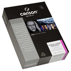 Canson Infinity Photo Lustre Premium RC Inkjet Paper A3+ (330x483mm) 310gsm 400049114 - Pack 25 Sheets
