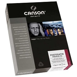 Canson Infinity PhotoSatin Premium RC Inkjet Paper A3+ (330x483mm) 270gsm 206231011 - Pack 25 Sheets