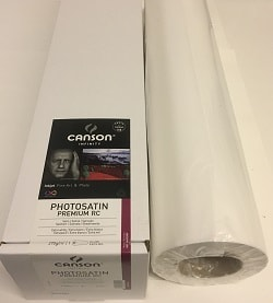 Canson Infinity PhotoSatin Premium RC Inkjet Paper (60in roll) 1524mm x 30m 270gsm 200004799 - Each Roll