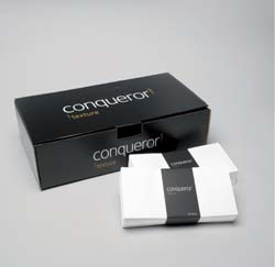 Conqueror Wove Envelope Cream Dl Wllt Supersl FSC DL 120gsm - Box 500