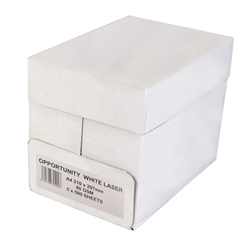 Opportunity White Copier Paper A4 75gsm - Box 5 Reams