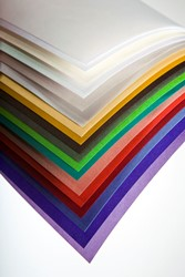 Curious Translucents - Iridescent Silver FSC B1 (700x1000mm) 100gsm - Pk 250 Sheets