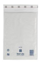 Mail Lite Padded Bubble Envelopes White Ref D/1 180x260mm - Box 100