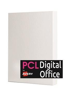 Digitial Office Labels (L14/9938SESS) 99.1x38.1mm 14 labels per A4 sheet Radius Corners Satin Silver Permanent - Box 1400 labels