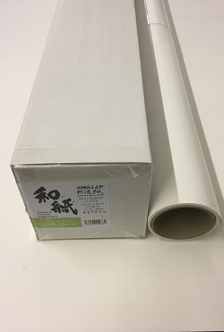 Awagami Bamboo Inkjet Paper (24in roll) 610mm x 15m 170gsm IJ-1326 - Each Roll