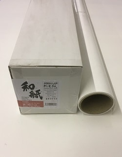 Awagami Kozo Thin White Inkjet Paper (24in roll) 610mm x 15m 70gsm IJ-0316 - Each Roll