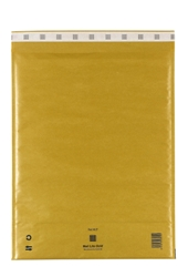 Mail Lite Padded Bubble Envelopes Gold Ref K/7 350x470mm - Box 50