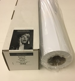 Hahnemuhle Baryta FB Inkjet Paper (24in roll) 610mm x 12m 350gsm 10643696 - Each Roll