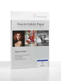 Hahnemuhle Photo Rag Inkjet Paper A2 308gsm 10641616 - Pack 25 Sheets