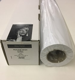 Hahnemuhle Photo Rag Baryta Inkjet Paper (64in roll) 1626mm x 12m 315gsm 10643199 - Each Roll