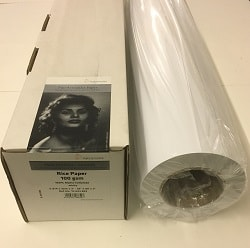 Hahnemuhle Rice Inkjet Paper (44in roll) 1118mm x 30m 100gsm 10643804 - Each Roll