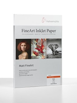 Hahnemuhle William Turner Inkjet Paper 4 Deckle Edges A2 190gsm 10641710 - Pack 25 Sheets