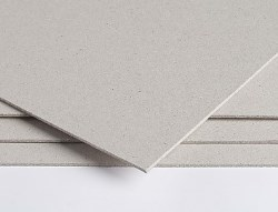 Emblem Unlined Greyboard FSC cut to A3 size 750micron (465gsm) - Pack 340 Sheets