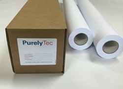 PurelyTec Ferrous Sheet White Matt PET 0.19mm 1070mm x 50m 340gsm - Each Roll