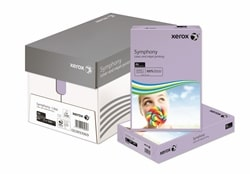 Xerox Symphony Coloured Paper PEFC Mid Lilac A4 80gsm 003R93969 - Box 5 Reams