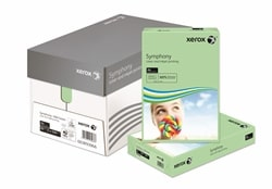 Xerox Symphony Coloured Paper PEFC Mid Green A4 80gsm 003R93966 - Box 5 Reams