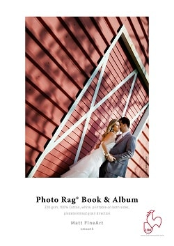 Hahnemuhle Photo Rag Book and Album Inkjet paper A2 220gsm 10641691 - Pack 25 Sheets