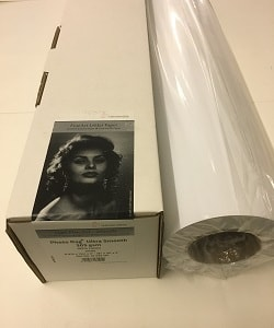 Hahnemuhle Photo Rag Ultra Smooth Inkjet Paper (64in roll) 1626mm x 12m 305gsm 10643277 - Each Roll