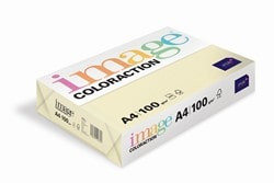 Image Coloraction Coloured Paper Pale Ivory (Atoll) A4 100gsm - Box 4 Reams