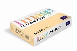 Image Coloraction Coloured Paper Pale Beige (Beach) A4 80gsm - Box 5 Reams