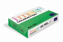 Image Coloraction Coloured Card (Pk=250shts) Deep Green (Dublin) A4 160gsm  - Box 5 Packs