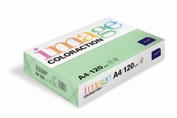 Image Coloraction Coloured Paper (Pk=250shts) Pale Green (Forest) A4 120gsm - Box 5 Packs