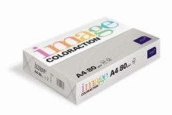 Image Coloraction Coloured Paper Mid Grey (Iceland) A4 80gsm - Box 5 Reams