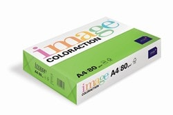 Image Coloraction Coloured Paper Deep Green (Java) A4 80gsm - Box 5 Reams