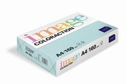 Image Coloraction Coloured Card (Pk=250shts) Pale Blue (Lagoon) A4 160gsm - Box 5 Packs