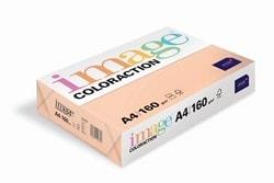 Image Coloraction Coloured Card (Pk=250shts) Pale Salmon (Savana) A4 160gsm  - Box 5 Packs