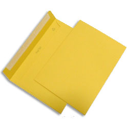 PopSet Sunshine Yellow Envelope Superseal 120gsm C5 162x229mm - Box 250