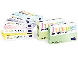 Image Coloraction Coloured Paper FSC Lemon Yellow (Florida) A4 210x297mm 80gsm - Box 5 Reams