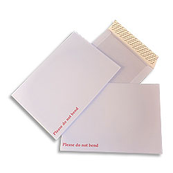 Humber River Series Peel and Seal Business Envelope White Boardbacked 115gsm C4 324 x 229mm - Box 125