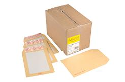 Humber River Series Peel and Seal Business Envelope Manilla Boardbacked 115gsm C4 324 x 229mm - Box 125