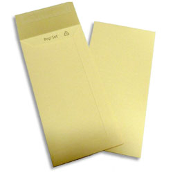 PopSet Ivory Envelope Superseal 120gsm DL (Pocket) 220x110mm - Box 500