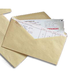 Niger River Series Gummed Business Envelope Manilla 70gsm DL 110 x 220mm - Box 1000