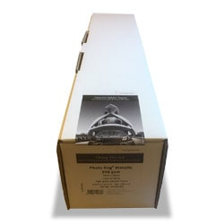Hahnemuhle Photo Rag Metallic Inkjet Paper Trial Roll (24in roll) 610mm x 5m 340gsm 10643575 - Each Roll