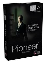 Pioneer Ultra White Card (Pk=250shts) A4 160gsm - Box 5 Packs