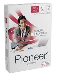Pioneer Ultra White Paper FSC A4 80gsm - Box 5 Reams