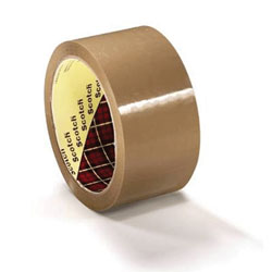 3M Scotchpro Buff Tape Ref 371 75mm x 66mtrs  - Box 24 Rolls