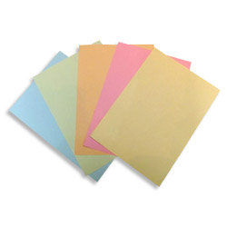 Xerox 100% Recycled Pastel Tinted Paper Yellow A4 80gsm 003R91442 - Box 5 Reams