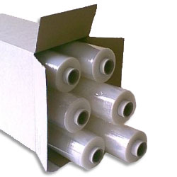 Hand Pallet Wrap Film 500mm x 300mtrs 17 micron Blown Standard Core - Pack 6 Rolls