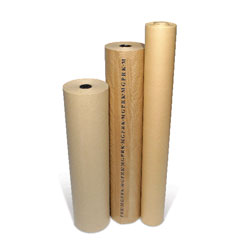 Masterline Pure Ribbed Kraft Paper Counter Roll 900mm x 220m 90gsm - Each