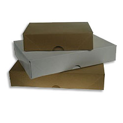 A4 Stationery Boxes (Kraft) 305 x 216 x 57mm  - Box 50