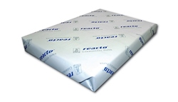 Reacto Carbonless Paper Precollated Reverse (125 sets) 4 pt set Pk/Ye/Bl/Wh FSC A4 75gsm - Each